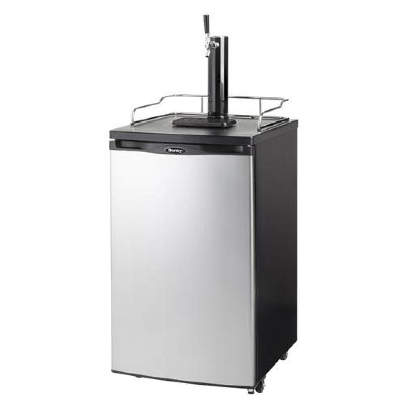 Single Faucet Kegerator 5.2 CU - Altitude Adjusted