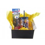 NY Yankees Mason Tumbler and Pez Dispenser