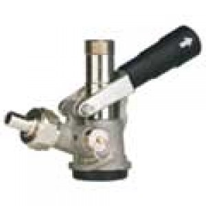 36000GS Perlick Keg Coupler for Domestic Keg Connection Stainless Steel